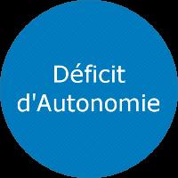 Déficit d'autonomie